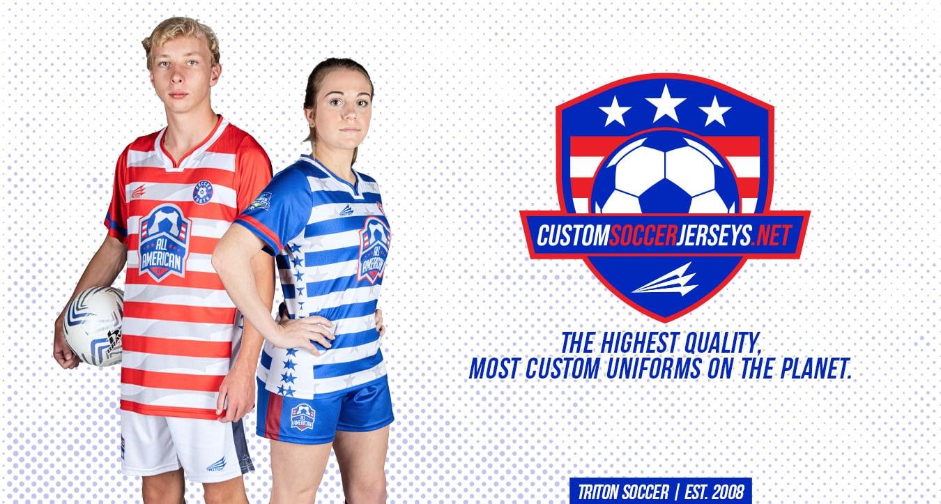 Triton Soccer Jerseys and Uniforms