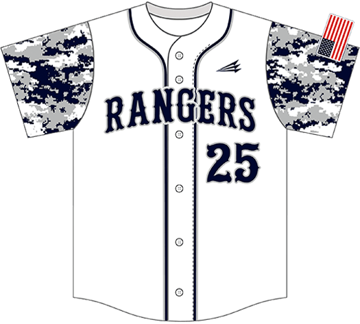 Triton Camo Baseball Jersey C107