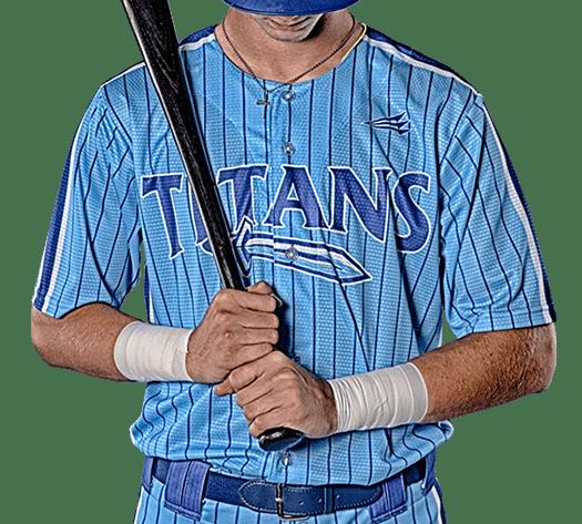 Triton Pinstripe Baseball Jersey PS105 Photo