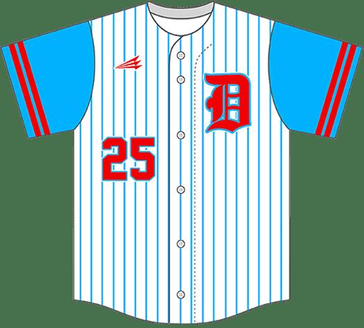 Triton Pinstripe Baseball Jersey PS104