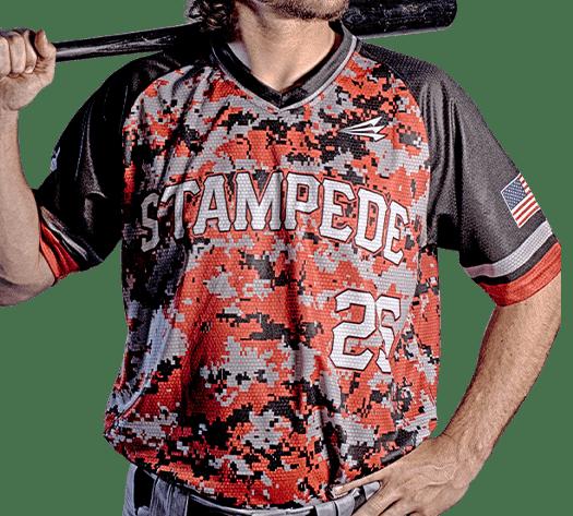 Triton Camo Baseball Jersey C110 Photo