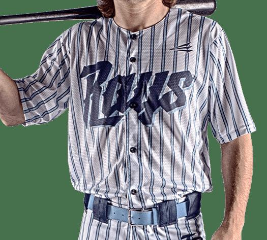 Triton Pinstripe Baseball Jersey PS106 Photo