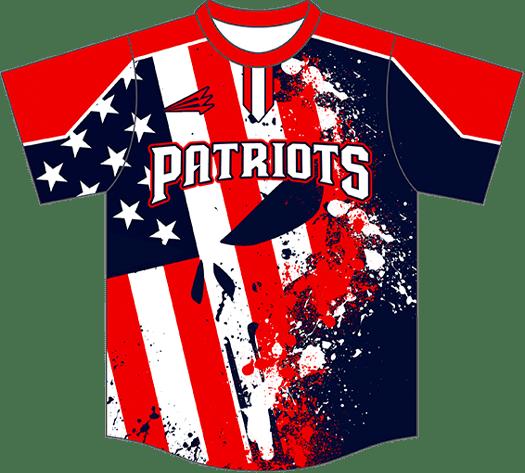 Triton Patriotic USA Baseball Jersey P119