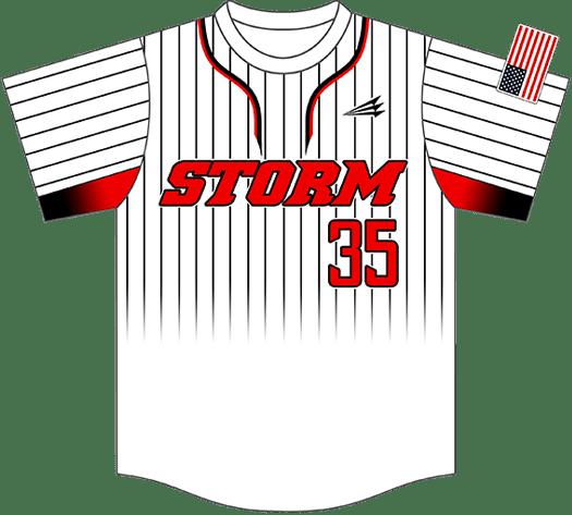 Triton Pinstripe Baseball Jersey PS103