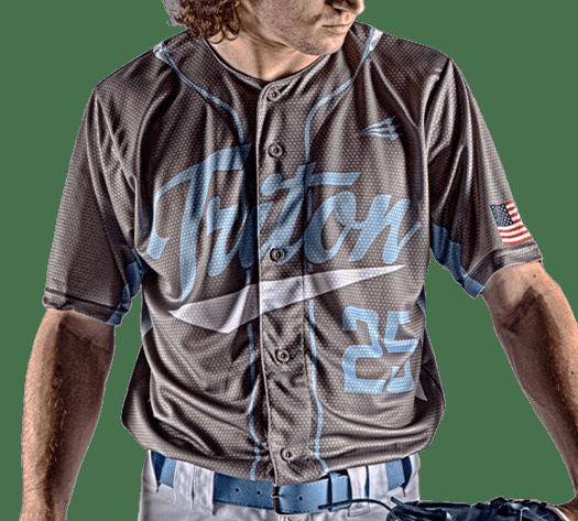 Triton Traditional Baseball Jersey TR110 Photo
