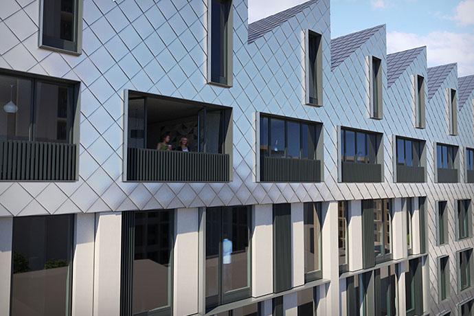 Image of exterior of Apex Lofts in Birmingham - 2 of 2