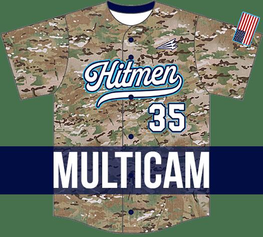 Triton Multicam Baseball Jersey