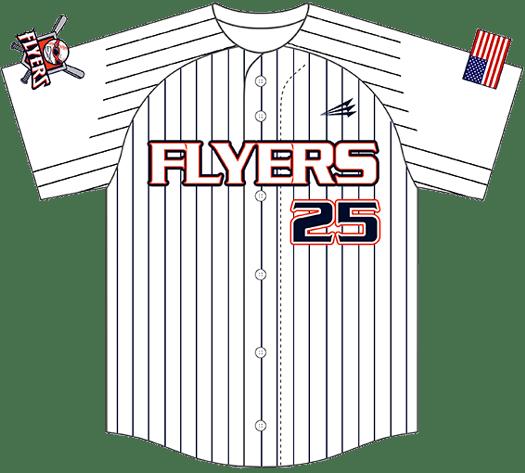 Triton Pinstripe Baseball Jersey PS111