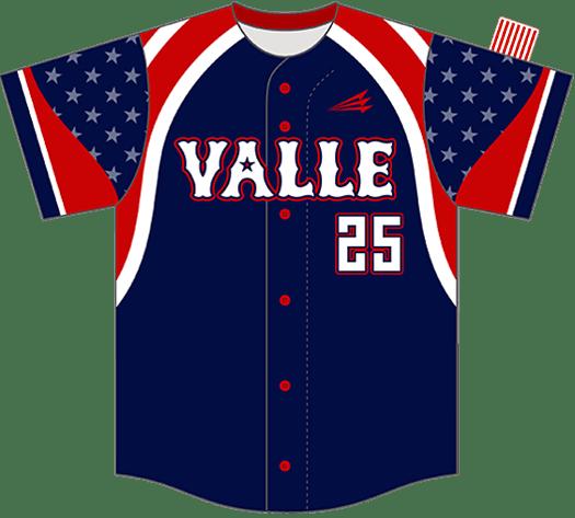 Triton Patriotic USA Baseball Jersey P126