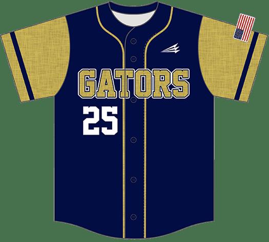 Triton Flannel Baseball Jersey FL107