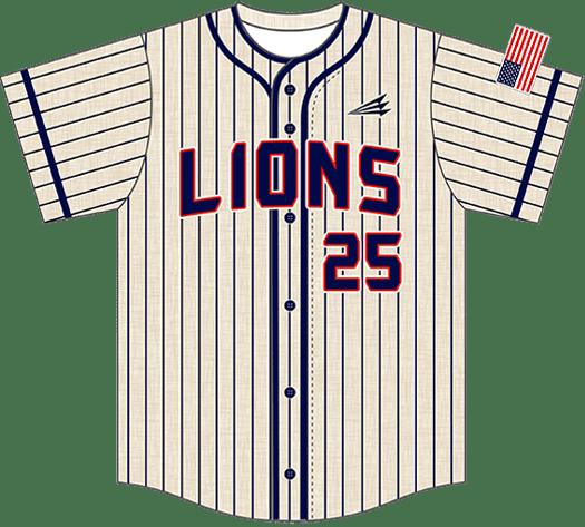Triton Flannel Baseball Jersey FL110