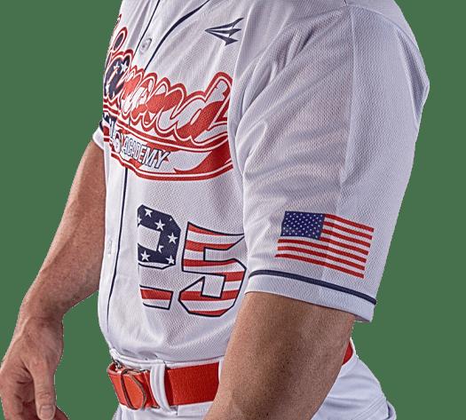 Triton Patriotic USA Baseball Jersey P103 Photo