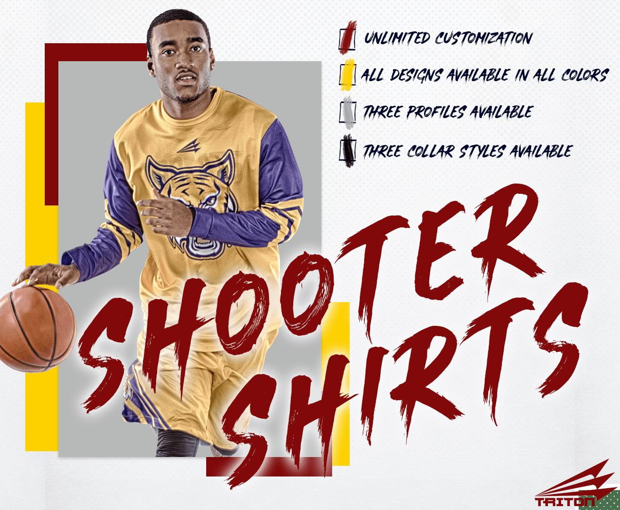 Triton Basketball Shooter Shirts