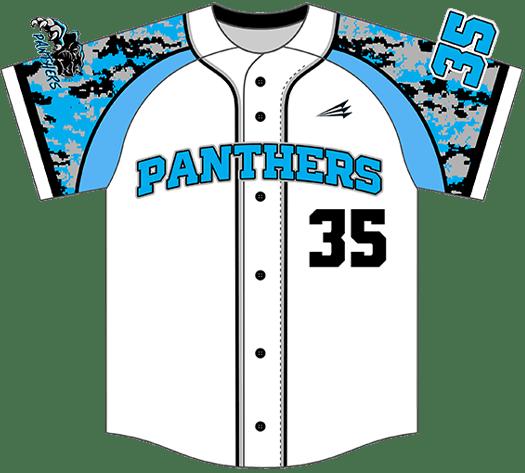 Triton Camo Baseball Jersey C109