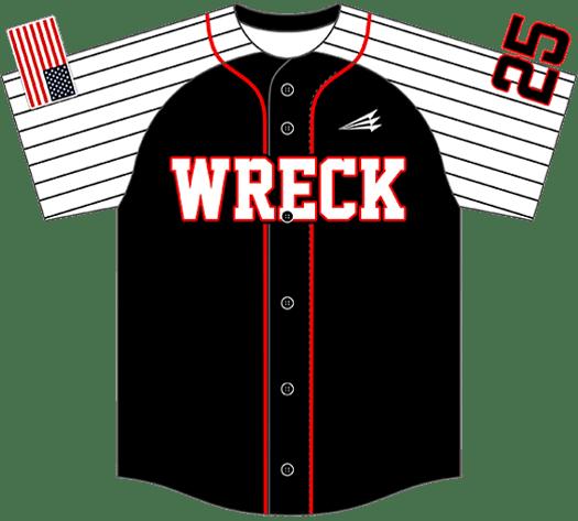 Triton Pinstripe Baseball Jersey PS109