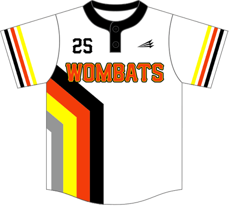 Triton Throwback Baseball Jersey TB107